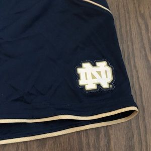 adidas Shorts - Adidas Notre Dame Athletic Shorts